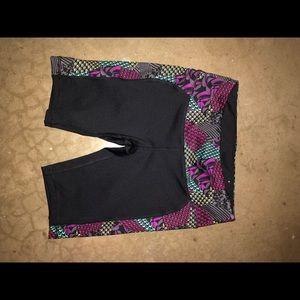 Everlast small bike shorts spandex black nwot